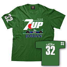 7UP Jordan 191 Gachot Mens T-shirt