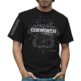 Cosworth DFV Mens T-shirt Black