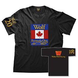 Wolter Wolf Racing Mens T-shirt